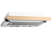 Встраиваемая вытяжка ELIKOR Выдвижной блок 2М 60 белый/дуб неокрашенный (550)