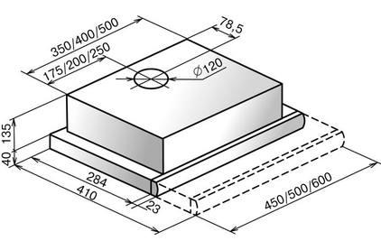 Встраиваемая вытяжка ELIKOR Интегра 60 белый / нержавейка