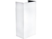 Декоративный короб для вытяжки Faber 112.0254.846 KIT CAMINI A500+A500 WH