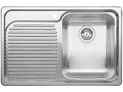 Мойка из нержавеющей стали Blanco Classic 4S-IF чаша справа сталь полированная