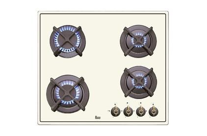 Газовая варочная поверхность Teka ER 60 4G AI AL CI White Cream