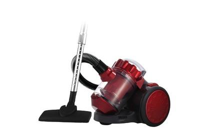 Циклонный пылесос LUMME LU-3206 черный/красный