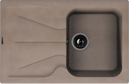 Мойка из композитного материала Florentina Гаттинара-780 песочный