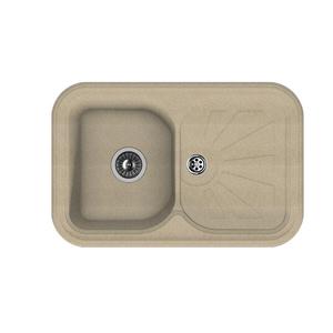 Мойка из композитного материала Florentina Крит-780 песочный