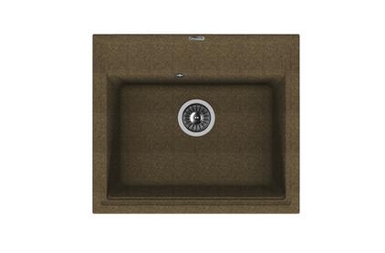 Мойка из композитного материала Florentina Липси 600 коричневый