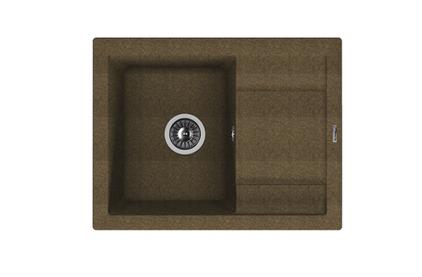 Мойка из композитного материала Florentina Липси-660 коричневый
