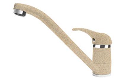 Смеситель из композитного материала Florentina Гамма ИТ песочный