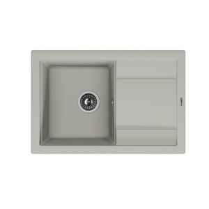 Мойка из композитного материала Florentina Липси-760 серый