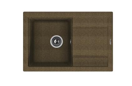 Мойка из композитного материала Florentina Липси-760 коричневый