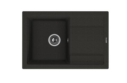 Мойка из композитного материала Florentina Липси-760 черный