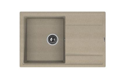 Мойка из композитного материала Florentina Липси-780 песок