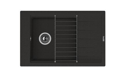 Мойка из композитного материала Florentina Липси-780Р черный
