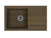 Мойка из композитного материала Florentina Липси-860 коричневый