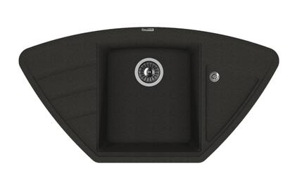 Мойка из композитного материала Florentina Липси-980С черный