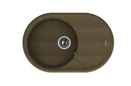 Мойка из композитного материала Florentina Лотос 780 коричневый