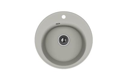 Мойка из композитного материала Florentina Никосия серый