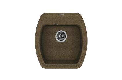 Мойка из композитного материала Florentina Нире-480 коричневый