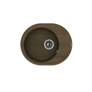 Мойка из композитного материала Florentina Родос-580 коричневый