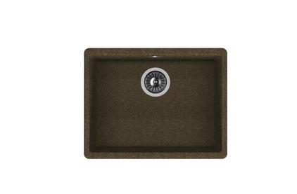 Мойка из композитного материала Florentina Вега 500 коричневый