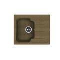Мойка из композитного материала Florentina Таис 615 коричневый