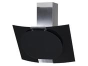 Каминная вытяжка ELIKOR Графит 80 нержавейка/черное стекло