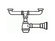 Сифон для раковины Smeg 3713