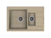 Мойка из композитного материала Florentina Липси-780К песочный