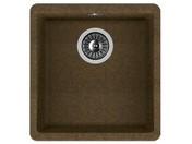 Мойка из композитного материала Florentina Вега 360 коричневый