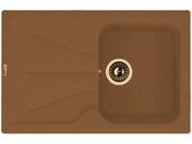 Мойка из композитного материала Florentina Гаттинара 780 мокко
