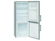 Холодильник двухкамерный Bomann KG 185 серебристый