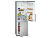 Холодильник двухкамерный Bomann KGC 213 серебристый