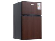 Холодильник двухкамерный Tesler RCT-100 Wood