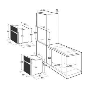 Электрический духовой шкаф Gorenje BO 7349 RW