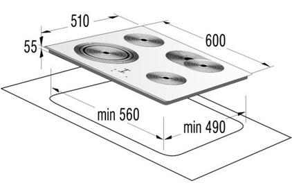 Электрическая варочная поверхность Gorenje ECT 680 ORA-W