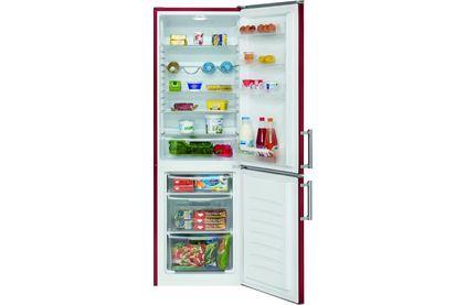 Холодильник двухкамерный Bomann KG 186 bordo
