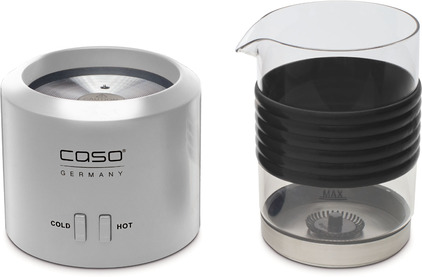 Пеновзбиватель CASO Crema Glas silver