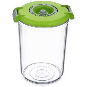 Вакуумная упаковка STATUS Контейнер для вакуумного упаковщика VAC-RD-15 Green