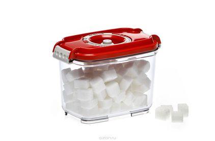 Вакуумная упаковка STATUS Контейнер для вакуумного упаковщика VAC-REC-08 Red