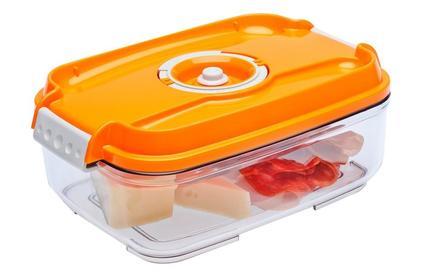 Вакуумная упаковка STATUS Контейнер для вакуумного упаковщика VAC-REC-14 Orange