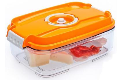 Вакуумная упаковка STATUS Контейнеры для вакуумных упаковщиков, набор VAC-REC-Bigger Orange