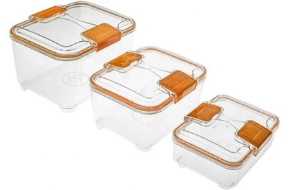 Вакуумный упаковщик бытовой STATUS RC Set lower Orange