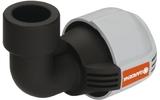 """Соединитель и фитинг для систем полива GARDENA Соединитель L-образный 32 мм x 3/4"""" - внутренняя резьба 02785-20.000.00"""