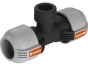 """Соединитель и фитинг для систем полива GARDENA Соединитель T-образный 32 мм x 3/4"""" - внутренняя резьба 02791-20.000.00"""