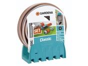 Шланг и комплект для полива GARDENA Кронштейн настенный со шлангом Classic 18005-20.000.00