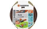 "Шланг и комплект для полива GARDENA Шланг Flex 9x9 1/2"" х 20 м комплект 18034-20.000.00"