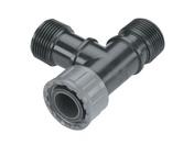 Соединитель и фитинг для систем полива GARDENA Тройник Т-образный соединитель PRO (02755-20)