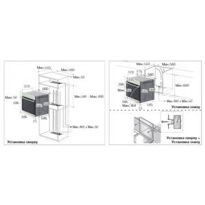 Электрический духовой шкаф Samsung NV6786BNESR