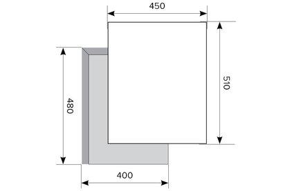 Газовая варочная поверхность LEX GVG 432 BL