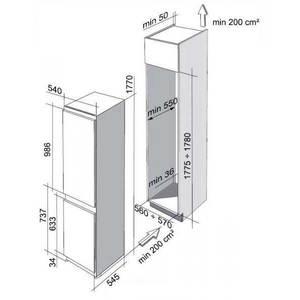 Холодильник двухкамерный Franke FCB 320/E ANFI A+